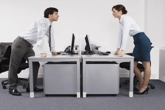 Conflict in the office